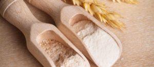 farina bianca e raffinata
