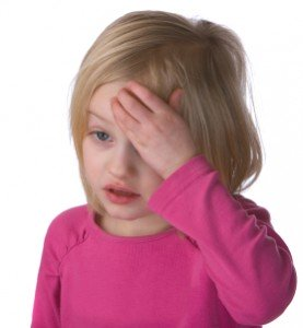 Sick Child With Headache