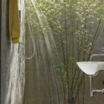 modern-outdoor-open-shower-area-with-refreshing-sunshine-and