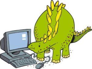 destrutturazione del dinosauro tecnologico