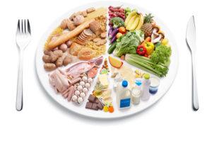 dieta raccomandata