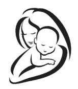 astrazione del viso della madre
