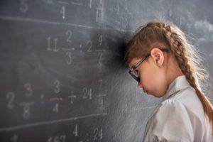 demoralizzazoione per la matematica